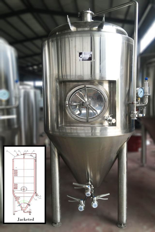 Jacketed Brewing Equipment